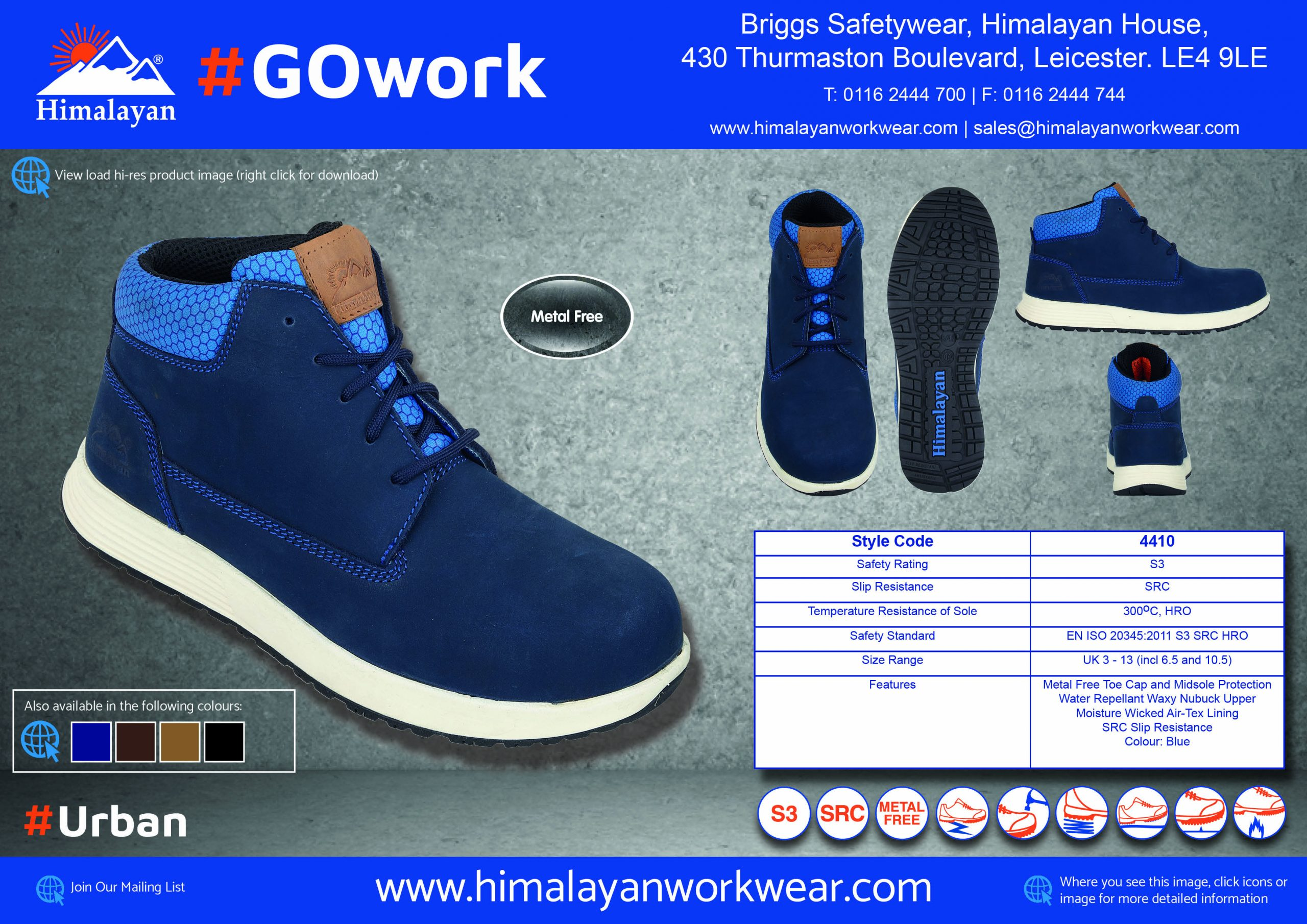 Specification Sheets for #GOwork Now Available To Download